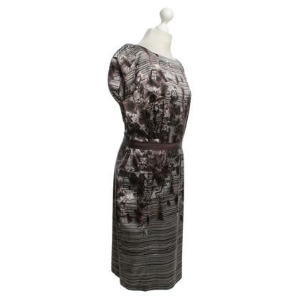Odeeh Silk dress with print
