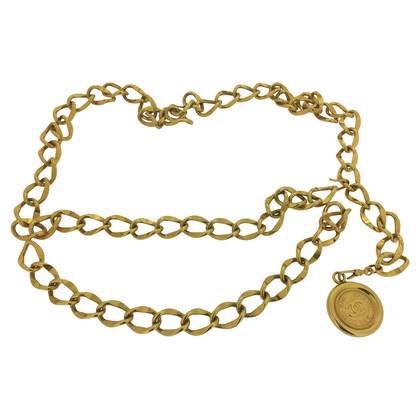 Chanel Chain belt with coin pendant