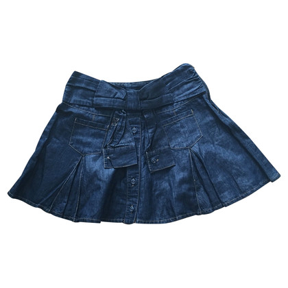 Moschino denim skirt