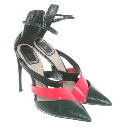 Christian Dior Sandalen in groen