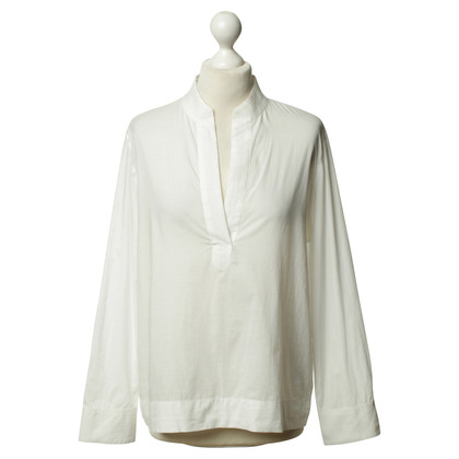 René Storck Tunic blouse in white