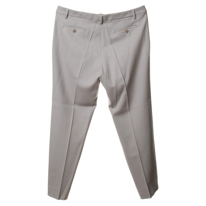 Etro Light grey wool pants