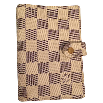 "Louis Vuitton ""Agenda-Fonctionnel PM Damier Azur Canvas"""