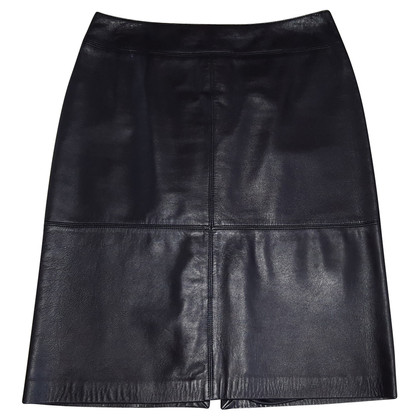 Laurèl pencil skirt in leder