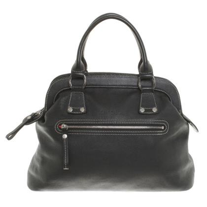 Longchamp Handtasche in Schwarz