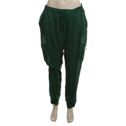 By Malene Birger pantaloni leggeri in Green