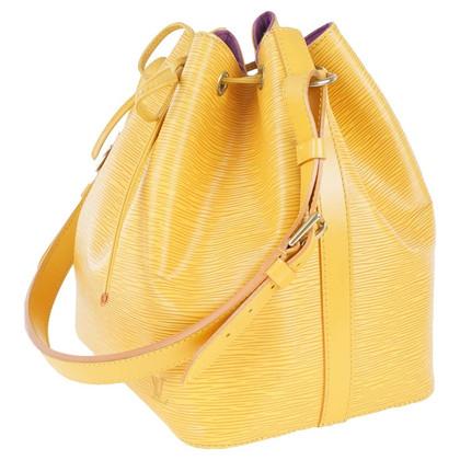 Louis Vuitton Petit Noé - giallo in pelle EPI