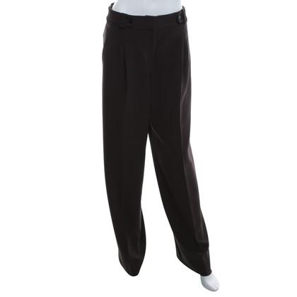 Giorgio Armani trousers in dark brown