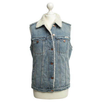 Maison Scotch Lined denim vest