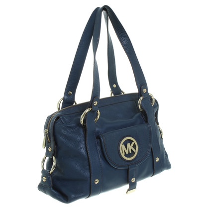 Michael Kors Leather handbag in blue