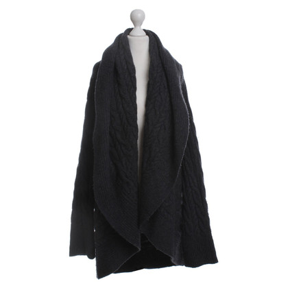 Ralph Lauren Black Label Strickjacke mit Zopfmuster