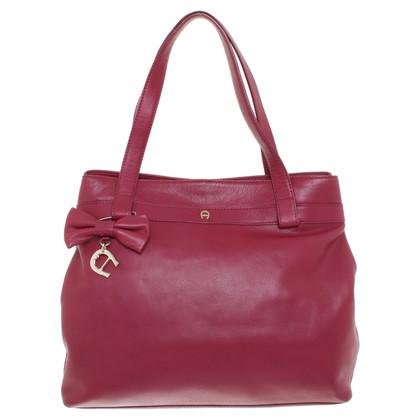 Aigner Handbag in fuchsia