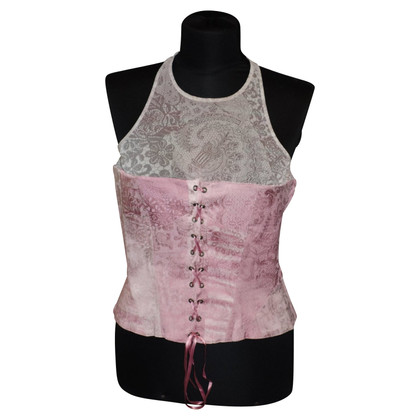 Just Cavalli Corset top with lacing