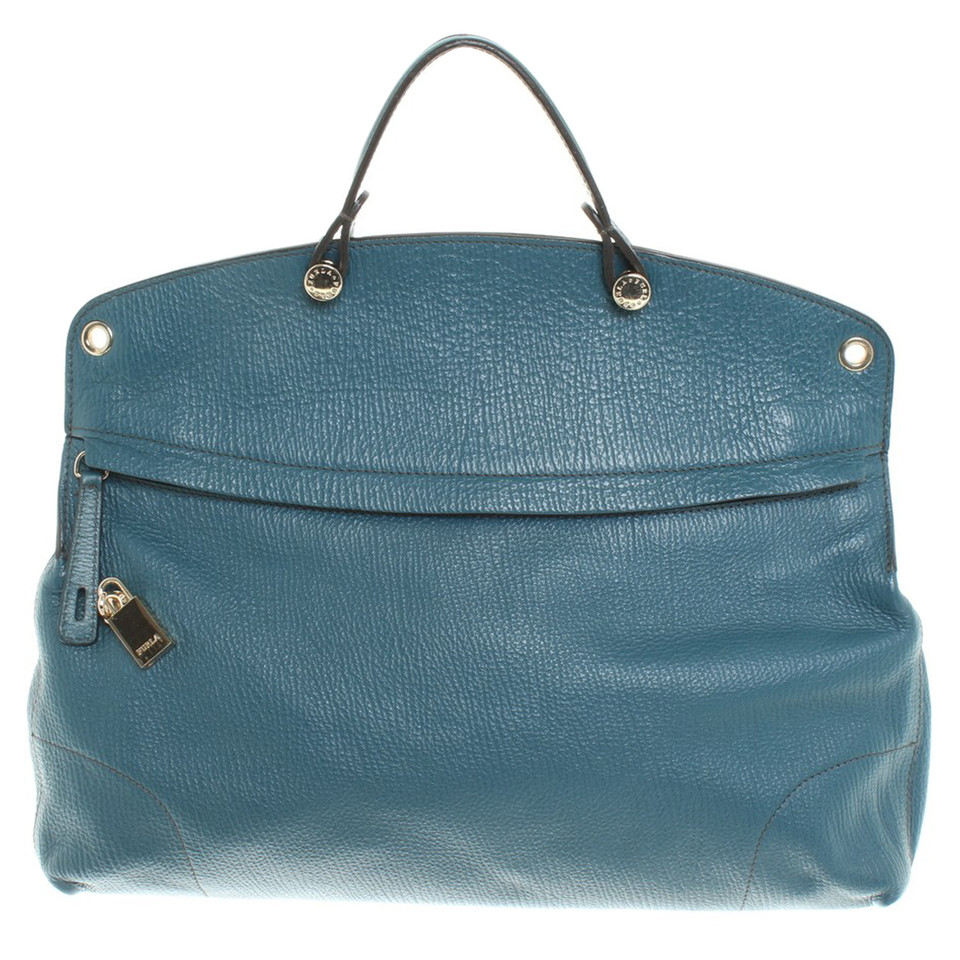 furla handtasche in petrol second hand furla handtasche in petrol gebraucht kaufen f r 180 00. Black Bedroom Furniture Sets. Home Design Ideas