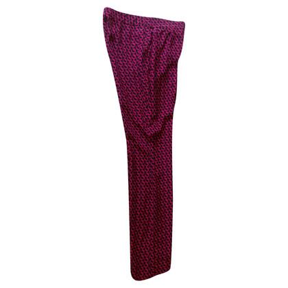 Diane von Furstenberg silk pants