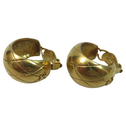 Chanel Gold-plated earrings