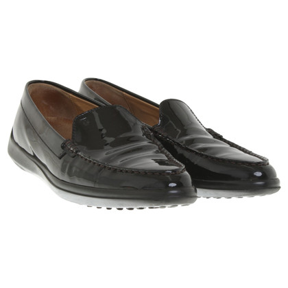 Tod's Pantofola in Black