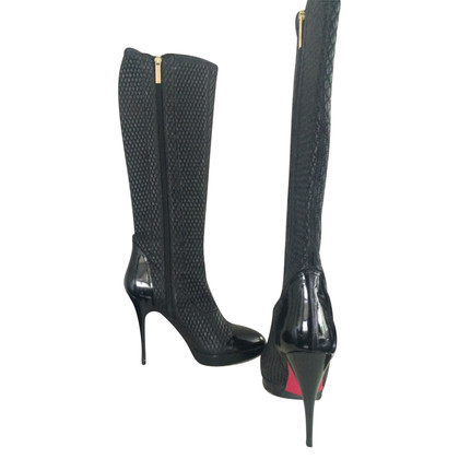 Luciano Padovan Patent leather boots