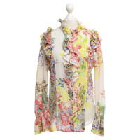Roberto Cavalli Blouse with floral pattern