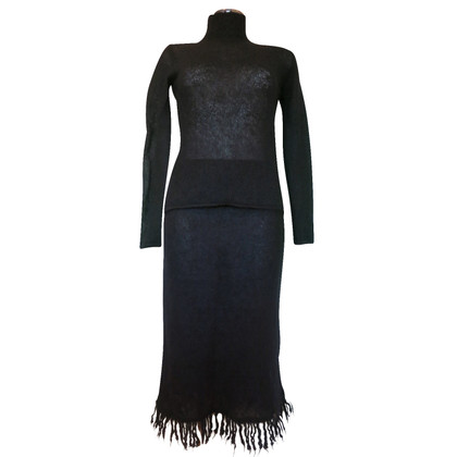 Mugler Knitted ensemble with fringes