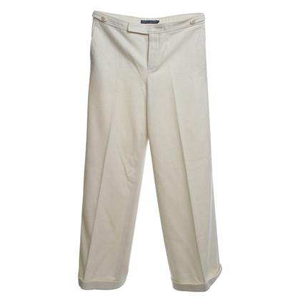 Ralph Lauren trousers in cream