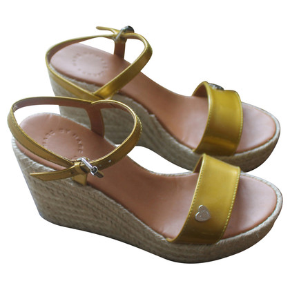 Marc Jacobs Gelbe Wedges