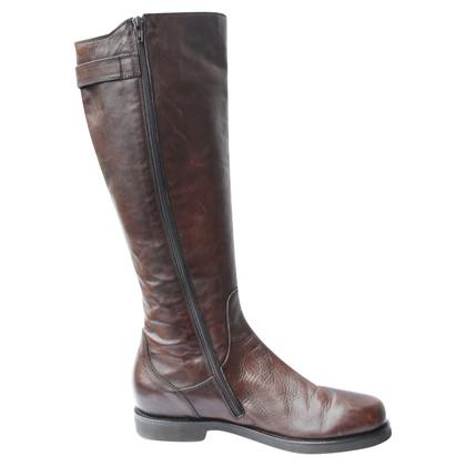 Other Designer AGL boots dark brown leather 40