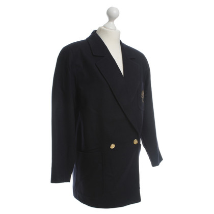 Burberry Wool jacket in dark blue