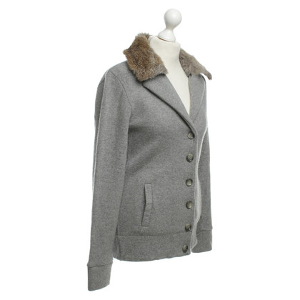 Woolrich Cardigan with fur collar