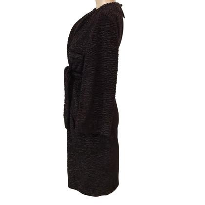 Golden Goose Coat in Persian lamb fur look