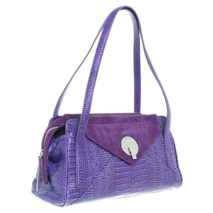 Smythson Handbag in purple