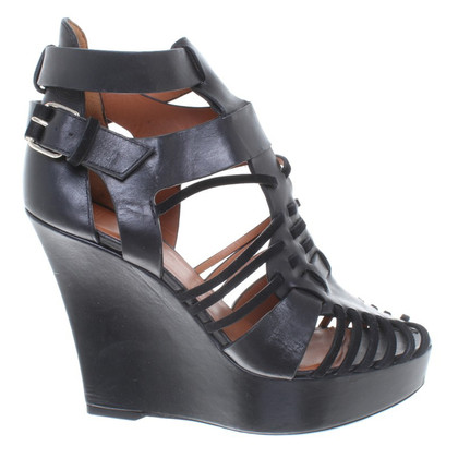 Givenchy Wedges in Schwarz