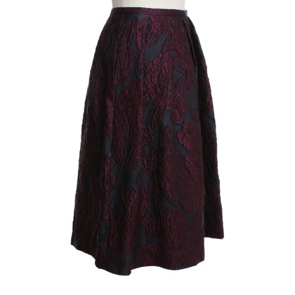 Burberry Folding skirt with woven pattern
