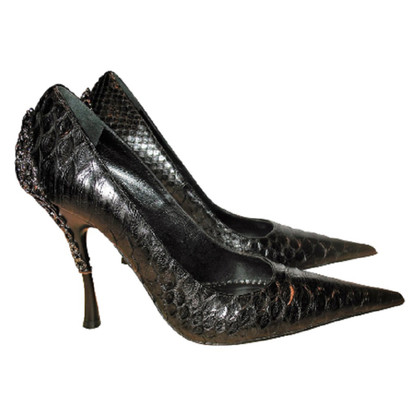 Gianmarco Lorenzi pumps Python Leather