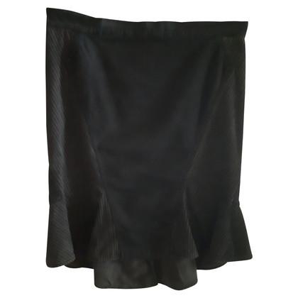 Roberto Cavalli Silk / cotton skirt