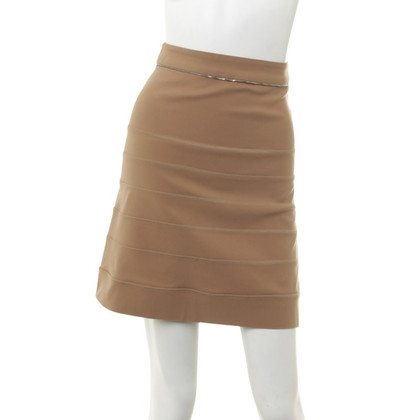 Preen skirt with zipper detail