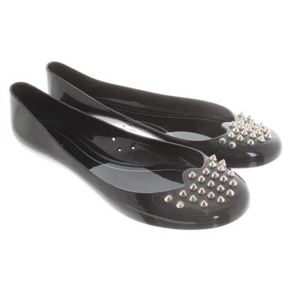 Furla Ballerina's in zwart