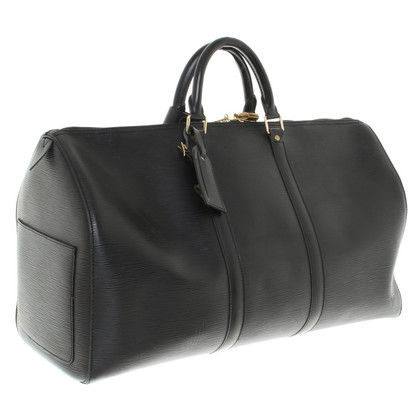 "Louis Vuitton ""Keepall 50 Epi leather"" in Black"