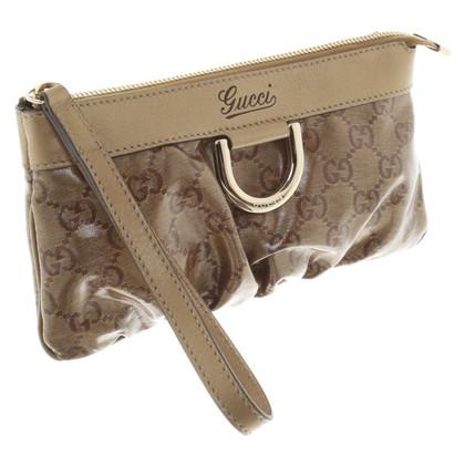 Gucci clutch in Bruin
