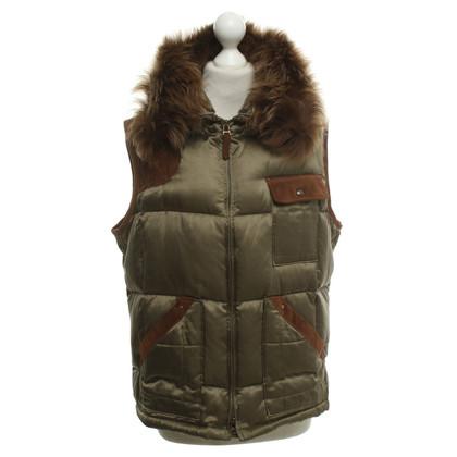 Ralph Lauren Vest with fur collar