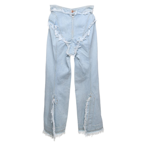 9527945c004e55 Vivienne Westwood Jeans in Hellblau - Second Hand Vivienne Westwood ...