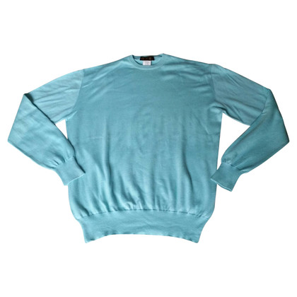 Loro Piana Pulls en turquoise