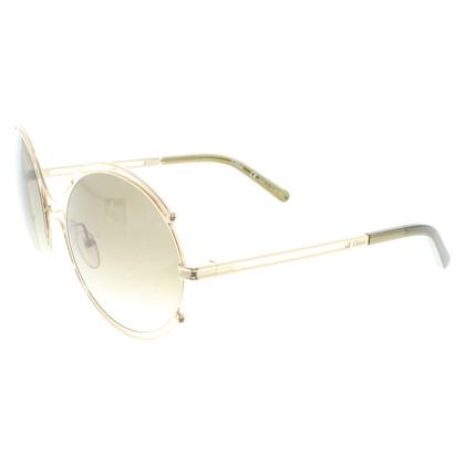 Chloé Gouden zonnebril