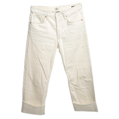 Citizens of Humanity jeans Cream