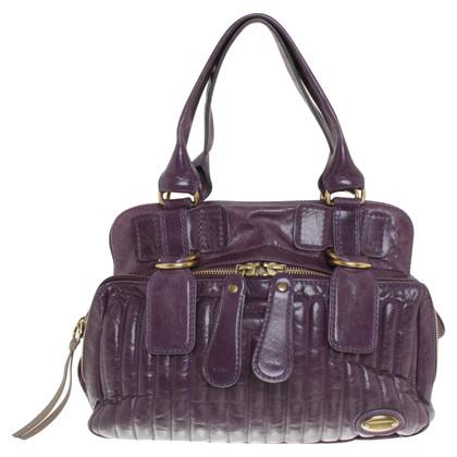 Chloé borsa in pelle viola