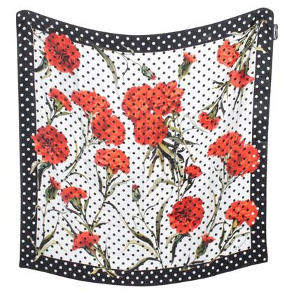 Dolce & Gabbana Panno con un motivo floreale