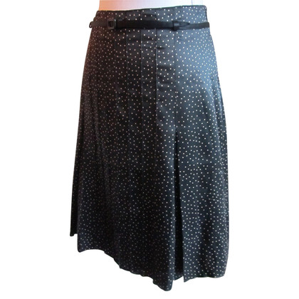 Drykorn Black silk skirt