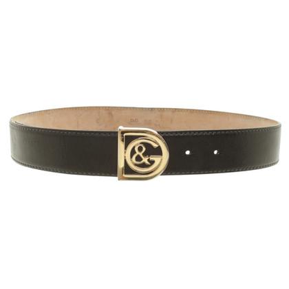 Dolce & Gabbana Black belt
