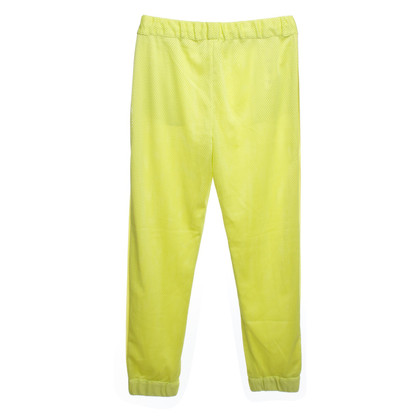 MSGM trousers in neon