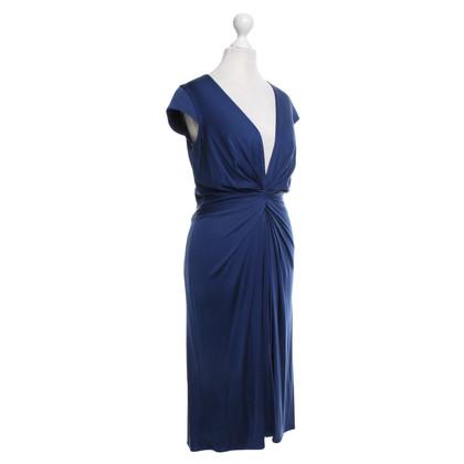 Issa Seidenkleid in Blau